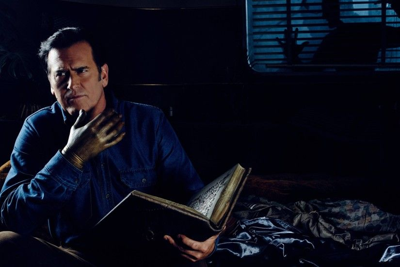 free screensaver wallpapers for ash vs evil dead, Hartman Chester 2017-03-25
