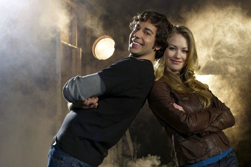 1920x1080 - yvonne strahovski, zachary levi, chuck, tv series, couple #  original