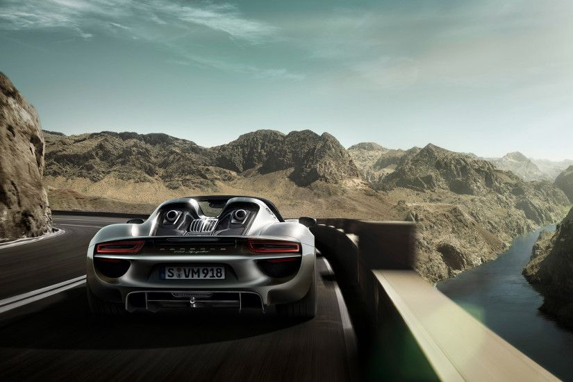 2015 Porsche 918 Spyder HD Widescreen Wallpapers
