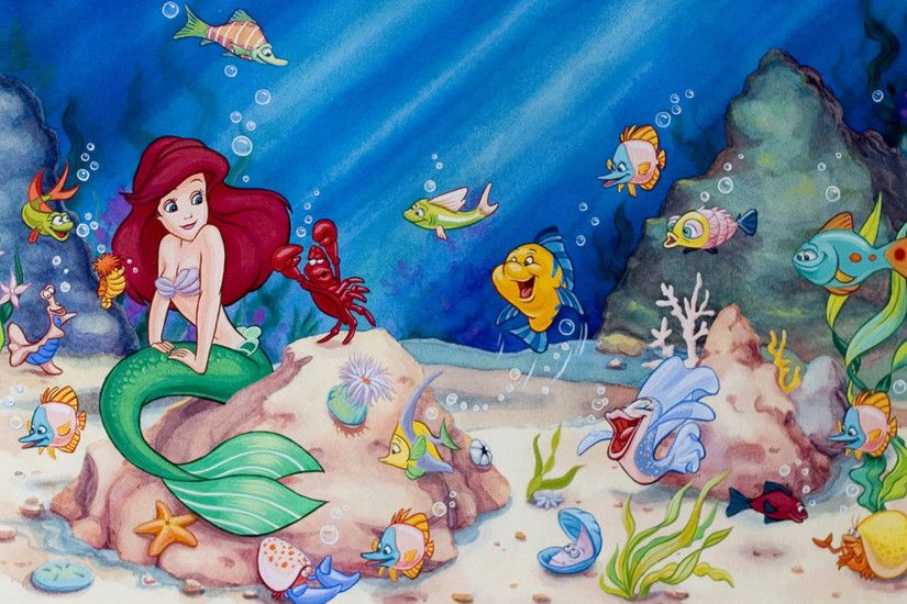Little Mermaid and Friends 1920x1200 Wallpapers, 1920x1200 Wallpapers .