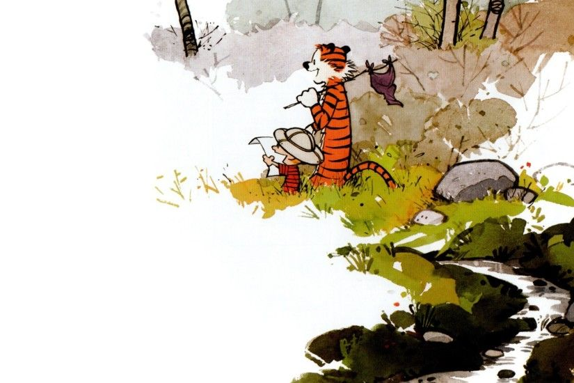 Calvin And Hobbes, Comics, Exploration Wallpapers HD / Desktop and Mobile  Backgrounds
