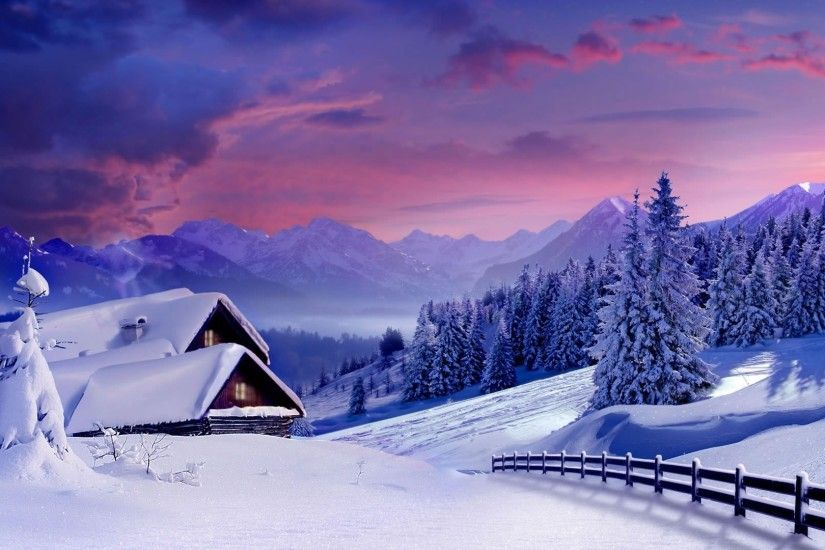 nature, Winter, Landscape, Snow Wallpapers HD / Desktop and Mobile  Backgrounds