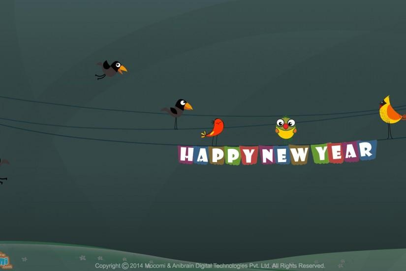 Happy New Year Wallpaper- 1