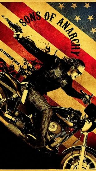 gorgerous sons of anarchy wallpaper 1440x2560