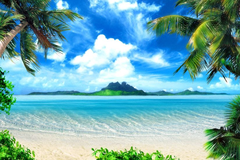 Beach Background 17585