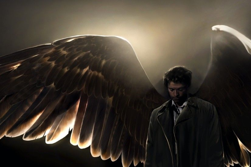 TV-program - Supernatural Castiel (Supernatural) Bakgrund