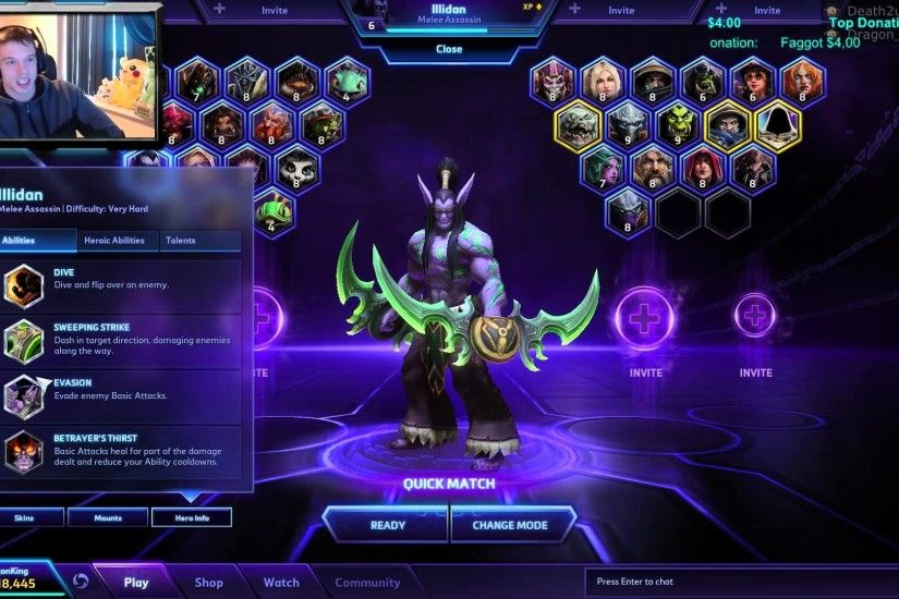 HotS FULL Hero Review: ILLIDAN STORMRAGE