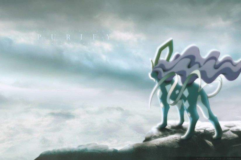 Epic Suicune Wallpaper!!! - Pokemon Wallpaper