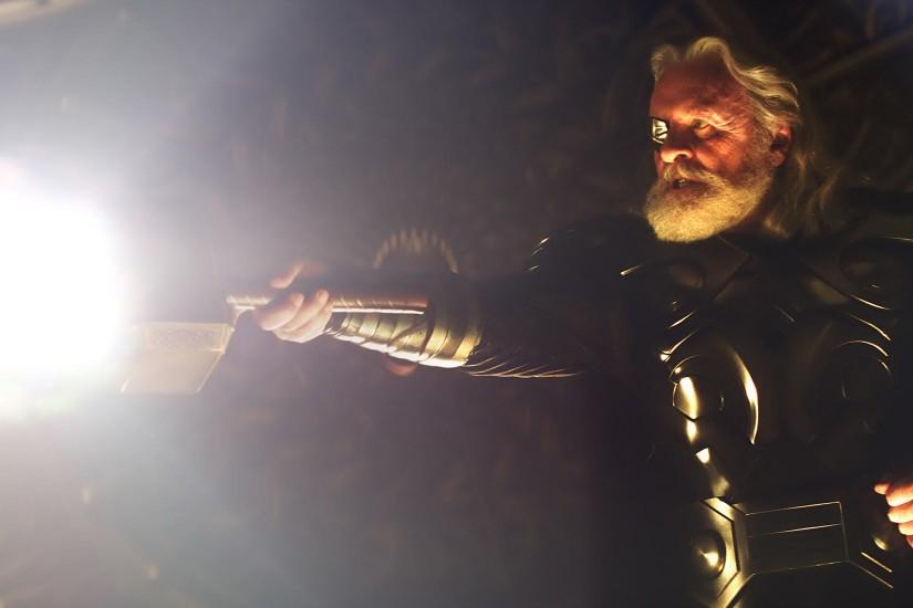 Odin from the Marvel Studios movie Thor wallpaper
