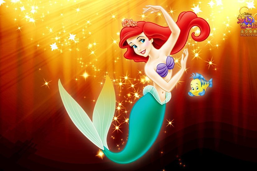 Cute Little Mermaid Wallpaper for Desktop (20)
