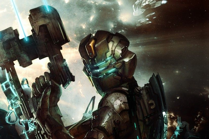 2048x2048 Wallpaper dead space, isaac clarke, game, costume, cutter, space,