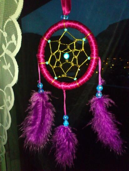 Purple dreamcatcher by mawahl Purple dreamcatcher by mawahl