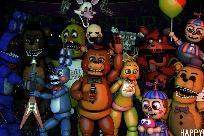 ... FNAF] Five nights at Freddy's 2 by Happyling