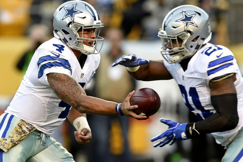 Cowboys rookies Dak Prescott and Ezekiel Elliott look to avenge only loss  to rival Giants - LA Times