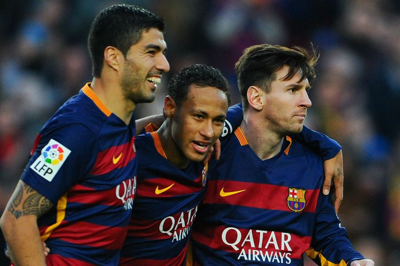 Barcelona Real Asset Luis Suarez Neymar Leo Messi. Wallpaper ...