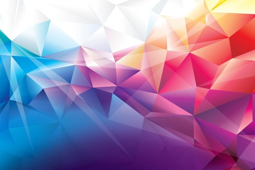 Colorful Polygons · Colorful Polygons Wallpaper