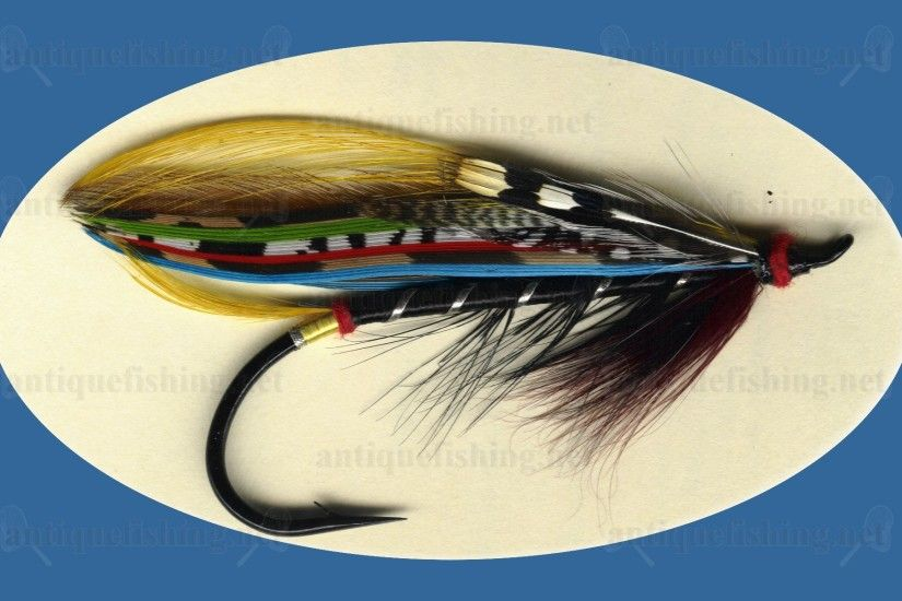 Antique fishing gear · Salmon Fly ...