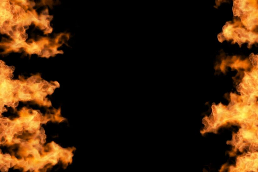 Subscription Library igniting fire flame background isolated on black  background