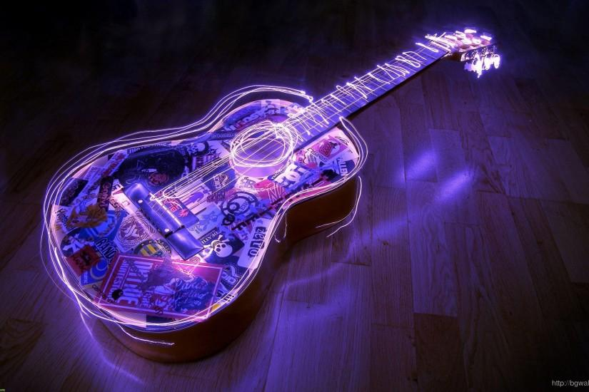 Guitar Abstract Wallpaper Wide ...