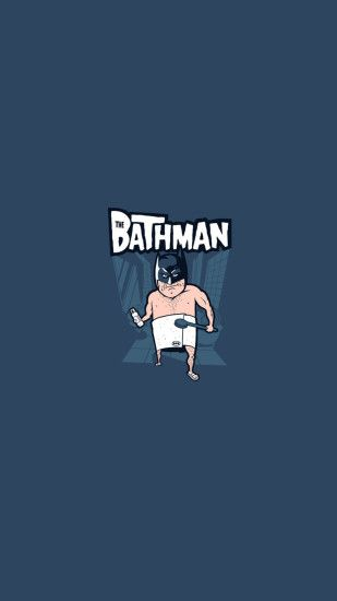 The Bathman Funny Android Wallpaper ...