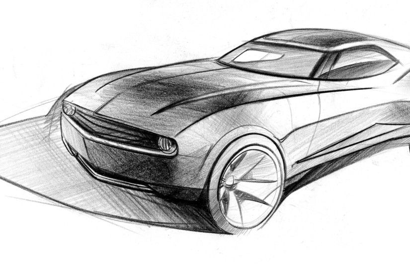 Car Drawings In Pencil Wallpapers (41 Wallpapers) – Adorable Wallpapers