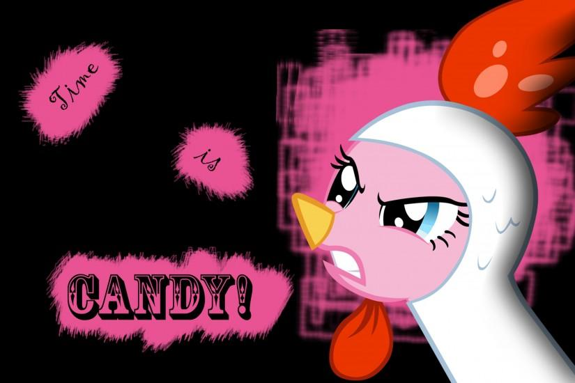 ... Time is candy - Pinkie Pie Wallpaper by l13000