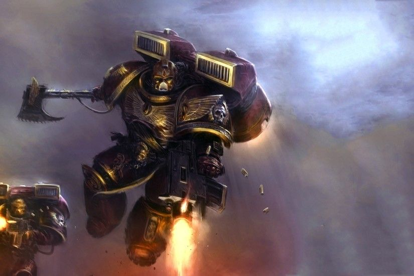 wallpaper space marines