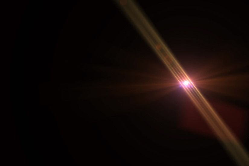 Lens Flare - Logo Element - Abstract Motion Background Stock .