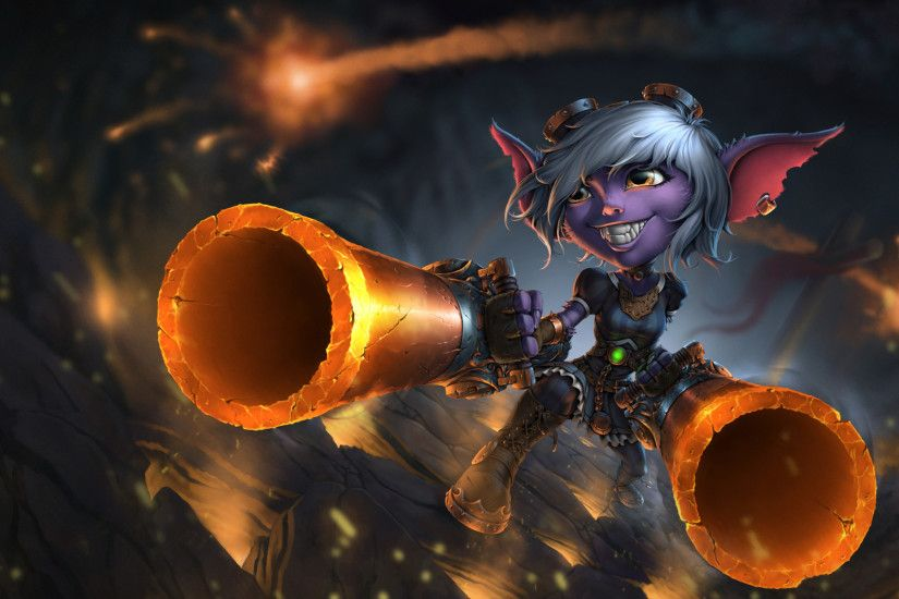 Episode2 - League of Legends Fan Art - Tristana Time Lapse