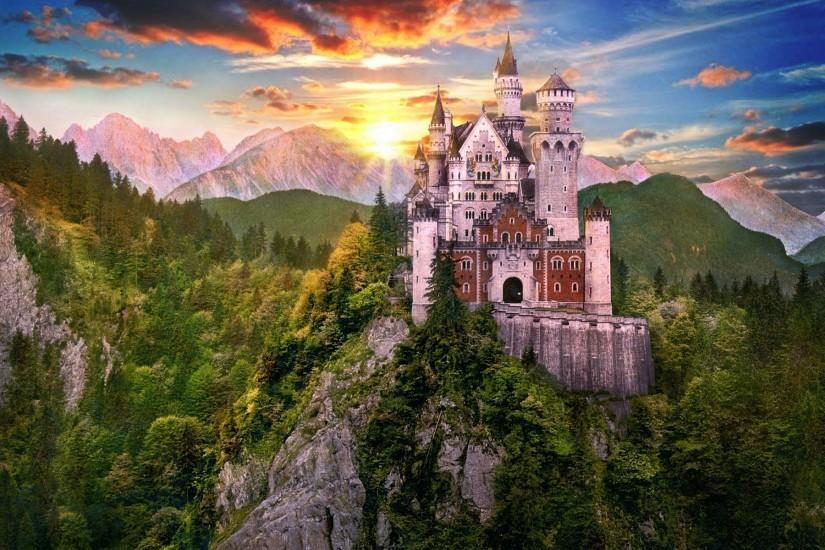 3d hd wallpaper fantasy castle image 8936 on 3d wallpaper 2013 .