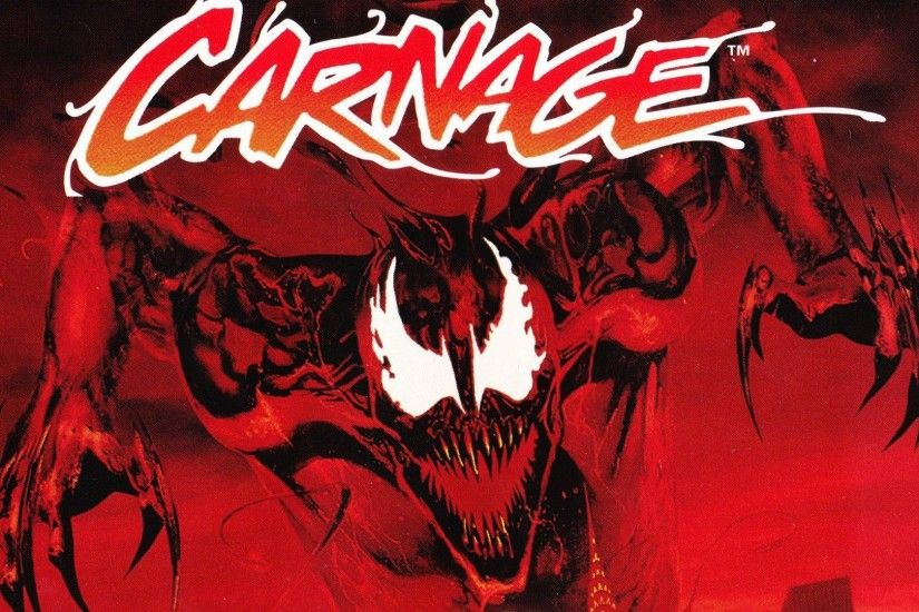 Spider-Man Venom Maximum Carnage scrolling fighting action .