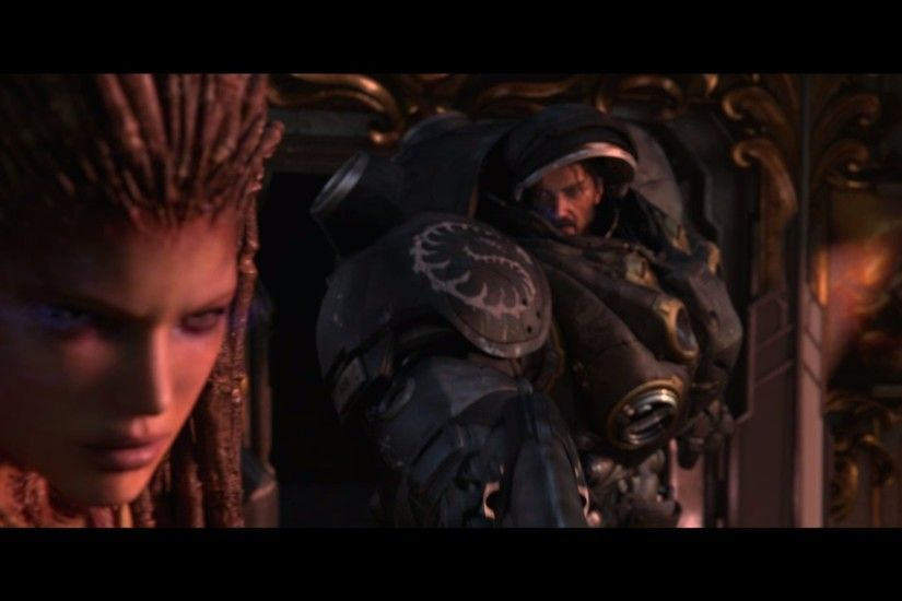 ... sarah kerrigan et jim raynor by nukacharlie