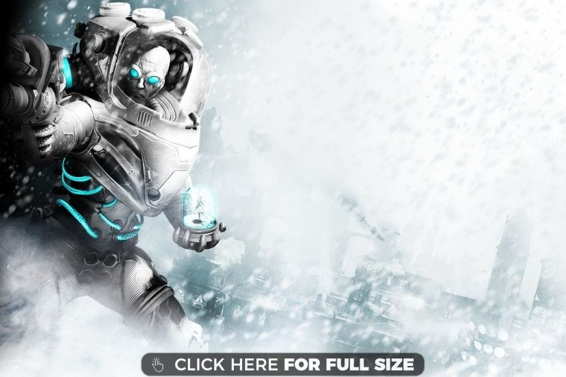 Mr Freeze in Batman Arkham City wallpaper