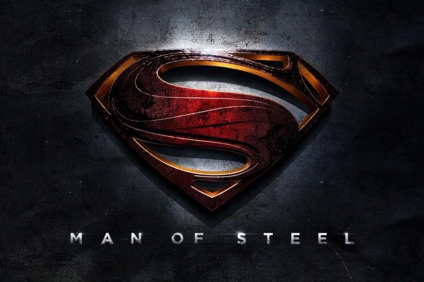 Superman Man of Steel Logo HD Wallpaper of Movie - hdwallpaper2013.