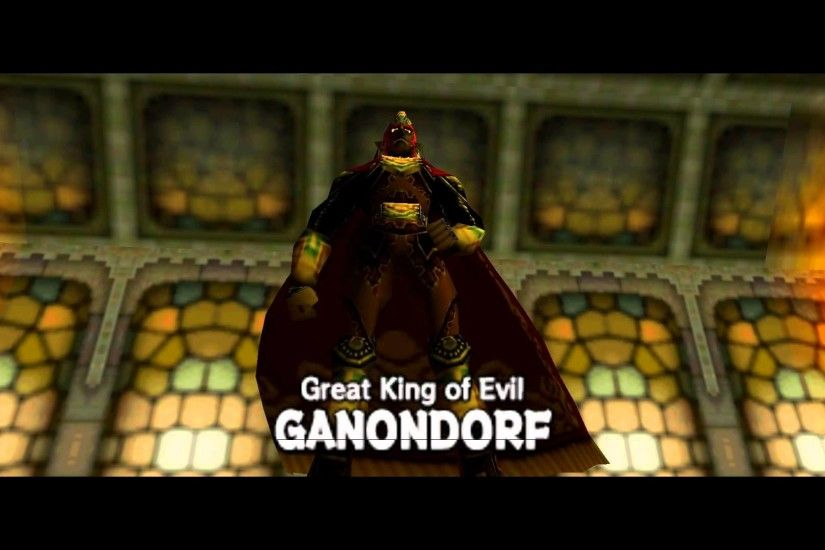 Legend of Zelda: Ocarina of Time - Boss: Great King of Evil Ganondorf  [1080P] - YouTube