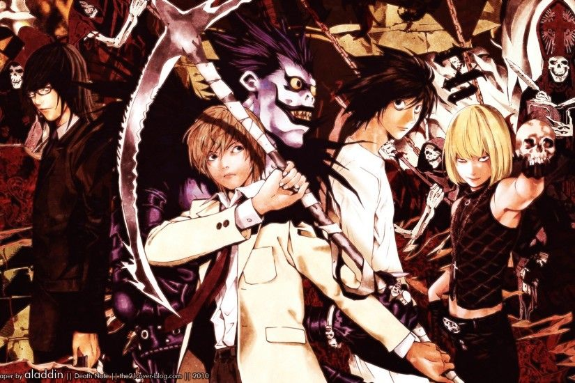 Death Note Wallpaper 1920x1200 Death, Note, Light, L, Kira, Lawliet .