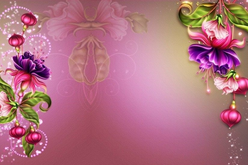 Abstract Fuchsia Pink Glamour wallpapers and stock photos
