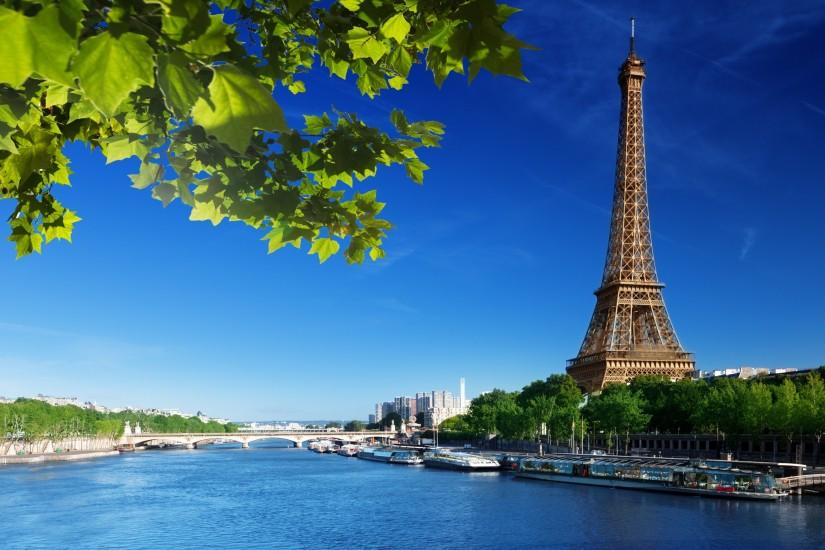 Eiffel tower seine river Wallpapers Pictures Photos Images · «