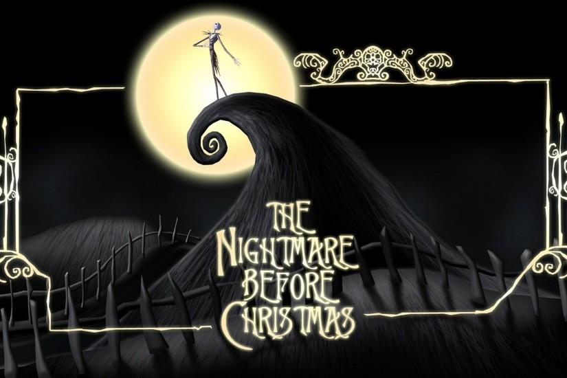 nightmare before christmas wallpaper 1920x1200 full hd