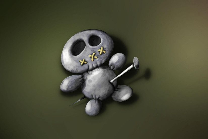 Preview wallpaper voodoo, voodoo doll, toy, scary 2560x1440