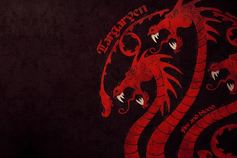 Game of Thrones House Targaryen - Wallpaper, High Definition, High .
