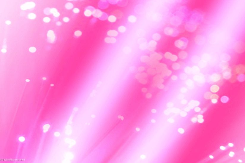 Pink abstract wallpaper with lights and circles