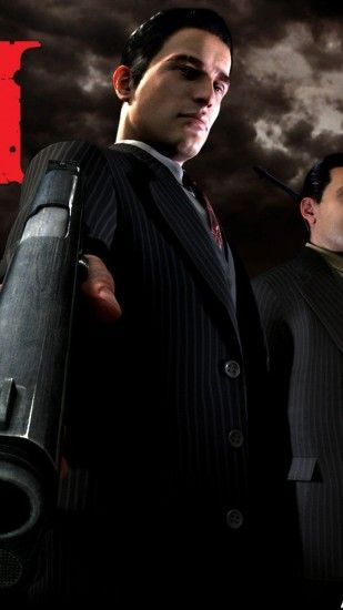 1080x1920 Wallpaper mafia 2, pistol, suit, look