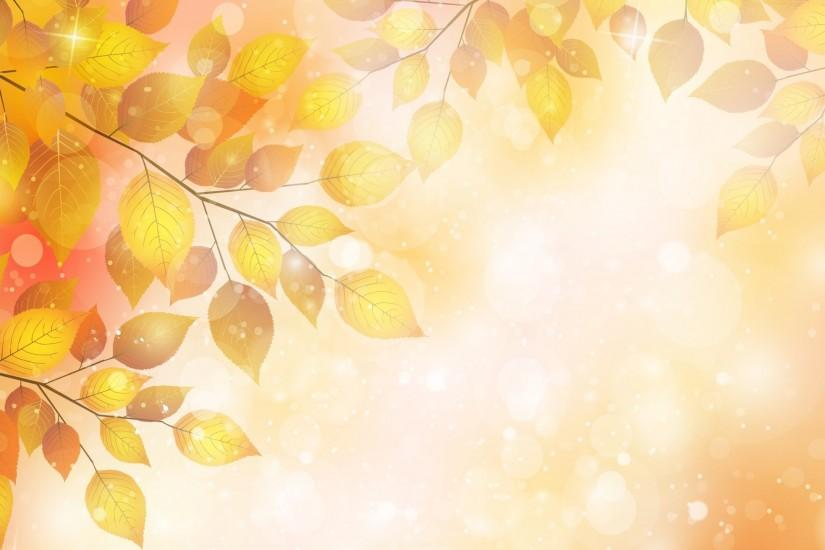 Autumn background on your desktop