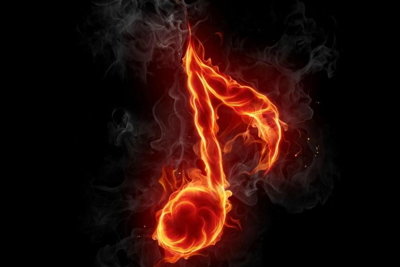 Wallpapers Music Note Cool Hd Fire 1999x1109 | #103452 #music note Desktop  Backgrounds Hd