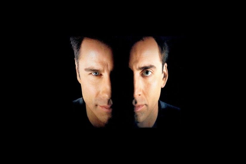 face/off without a face thriller john travolta nicolas cage