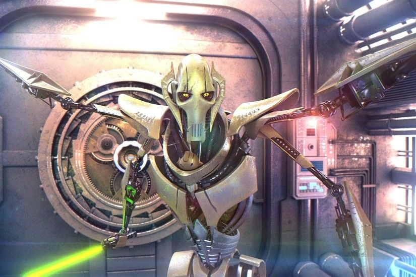 General Grievous animation Star Wars