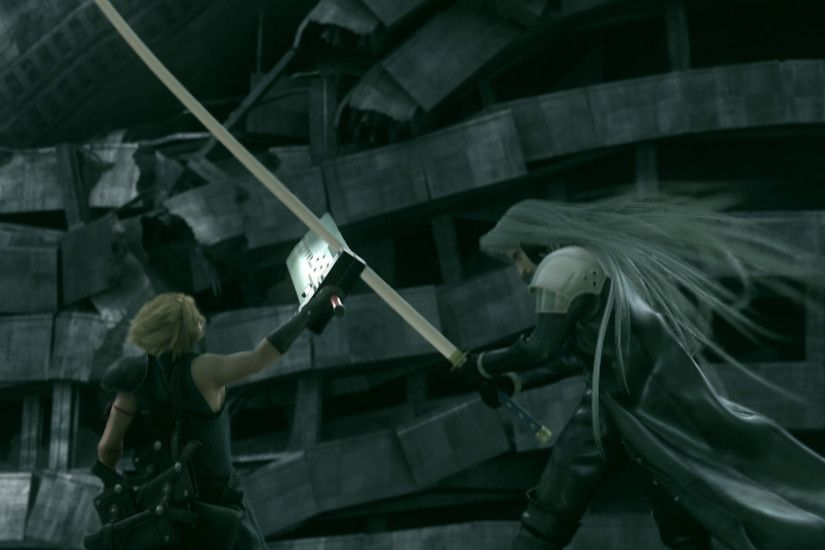 Free Nice Cloud and Sephiroth Images