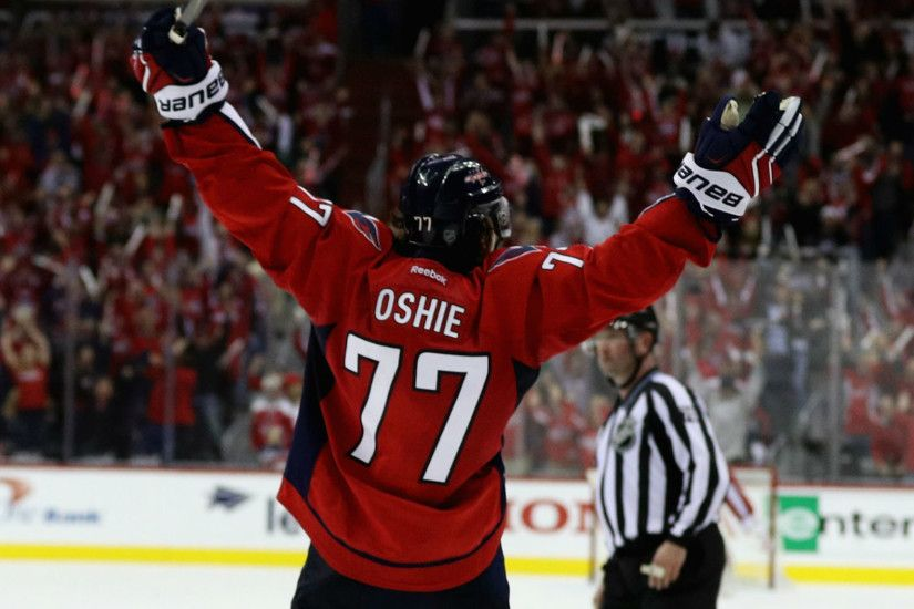 Stanley Cup playoffs three stars: T.J. Oshie completes hat trick to stun  Penguins in OT | NHL | Sporting News