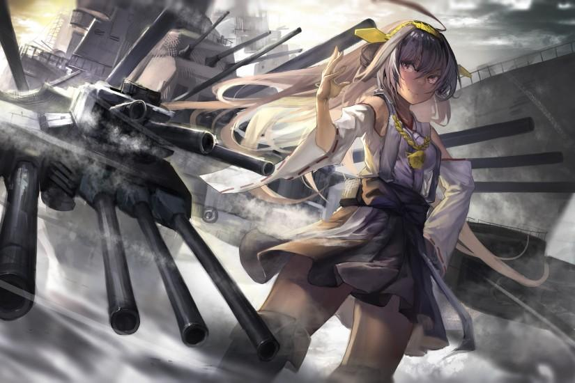 HD Wallpaper | Background ID:567651. 2600x1541 Anime Kantai Collection